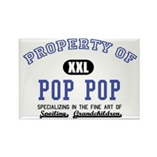 Property of Pop Pop Rectangle Magnet