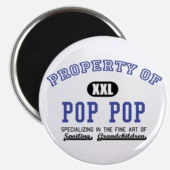 """Property of Pop Pop 2.25"""" Magnet (10 pack)"""