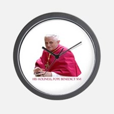 God Bless Our Pope Wall Clock