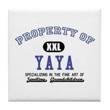 Property of YaYa Tile Coaster