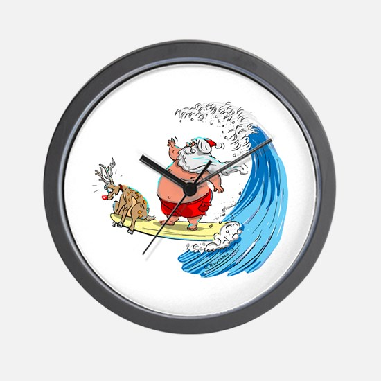 SaNtA aNd RuDoLf Wall Clock