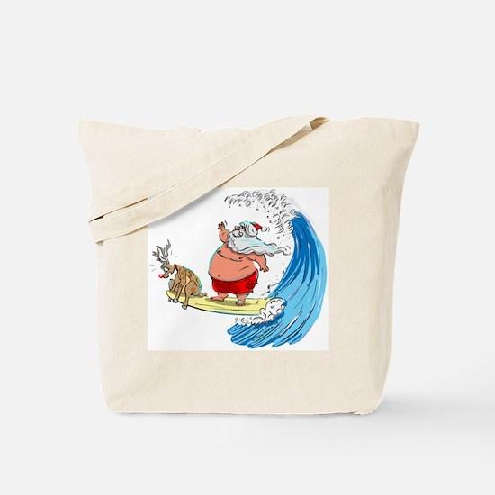 SaNtA aNd RuDoLf Tote Bag