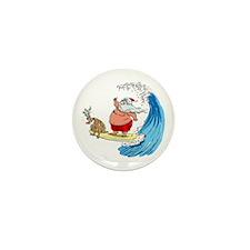 SaNtA aNd RuDoLf Mini Button (100 pack)