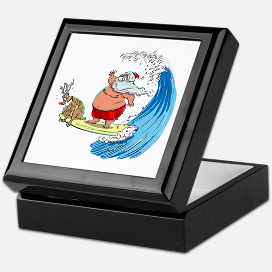 SaNtA aNd RuDoLf Keepsake Box