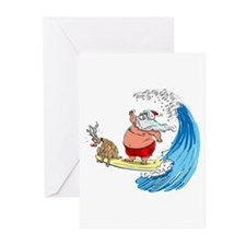 SaNtA aNd RuDoLf Greeting Cards (Pk of 20)