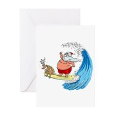 SaNtA aNd RuDoLf Greeting Card