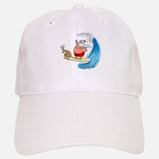 SaNtA aNd RuDoLf Baseball Baseball Cap