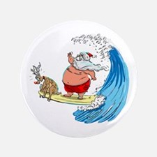 "SaNtA aNd RuDoLf 3.5"" Button (100 pack)"