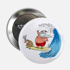 "SaNtA aNd RuDoLf 2.25"" Button"