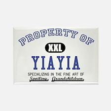 Property of YiaYia Rectangle Magnet