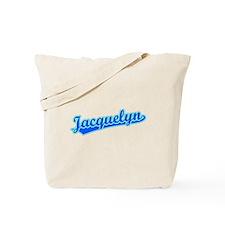 Retro Jacquelyn (Blue) Tote Bag
