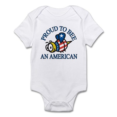 Proud to be American Infant Bodysuit