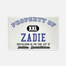 Property of Zadie Rectangle Magnet