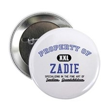 """Property of Zadie 2.25"""" Button"""