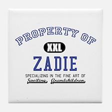 Property of Zadie Tile Coaster