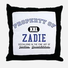 Property of Zadie Throw Pillow