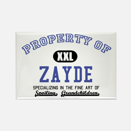 Property of Zayde Rectangle Magnet