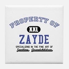 Property of Zayde Tile Coaster
