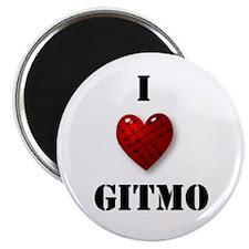 """I Love Gitmo 2.25"""" Magnet (10 pack)"""