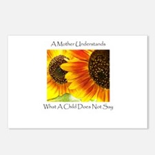 Mother Understands Sunflowers Postcards (Package o
