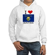 I Love Montana Hoodie