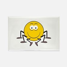 Spider Smiley Face Rectangle Magnet