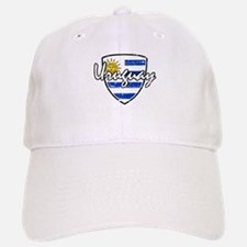 Uruguay distressed flag Baseball Baseball Cap