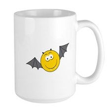 Vampire Bat Smiley Face Mug