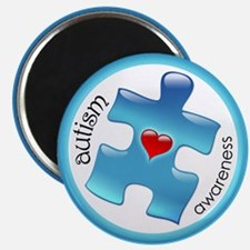"Autism Awareness (B2b) 2.25"" Magnet (10 pack)"