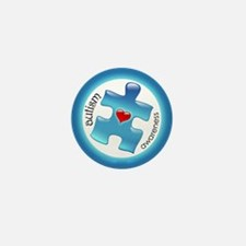 Autism Awareness (B2b) Mini Button (10 pack)