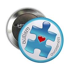 """Autism Awareness (B2b) 2.25"""" Button (10 pack)"""