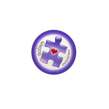 Autism Awareness (Pl3) Mini Button