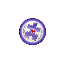 Autism Awareness (Pl3) Mini Button (10 pack)