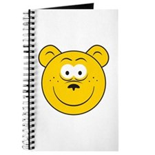 Bear Smiley Face Journal