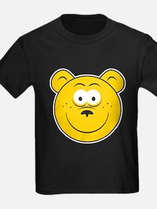 Bear Smiley Face T