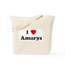 I Love Amarys Tote Bag