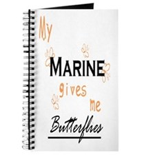My Marine gives me Butterflies Journal