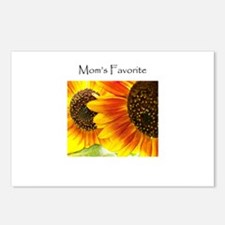 Mom's Favorite Sunflowers Postcards (Package of 8)