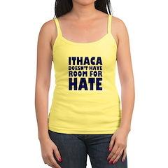 No Hate Ithaca Jr.Spaghetti Strap Top
