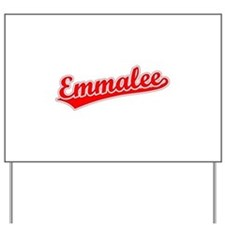 Retro Emmalee (Red) Yard Sign