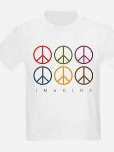 Imagine - Six Signs of Peace T-Shirt