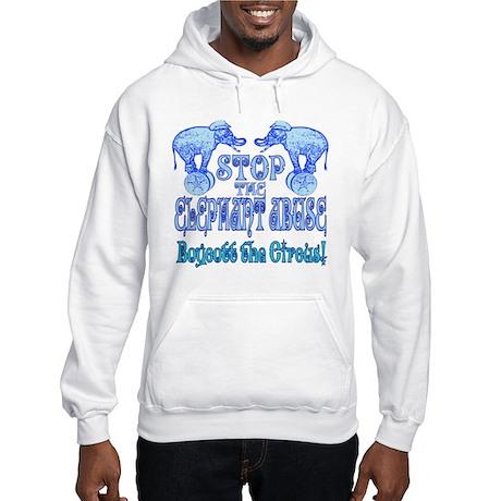 Circus Boycott -Blue Hooded Sweatshirt