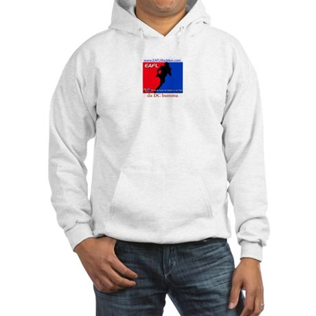 Hooded Sweatshirt with front and back logo