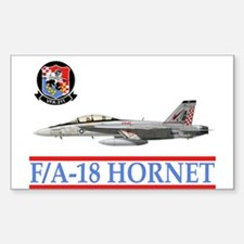 VFA-211 Checkmates Rectangle Decal