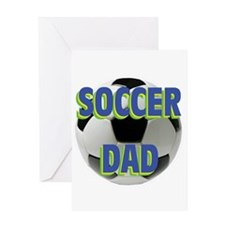 Soccer Dad Greeting Card