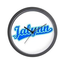 Retro Jalynn (Blue) Wall Clock