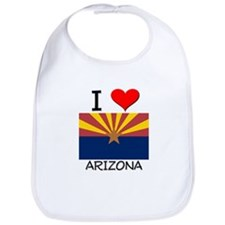 I Love Arizona Bib