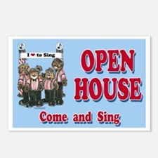 Barbershop Open House Postcards (Package of 8)