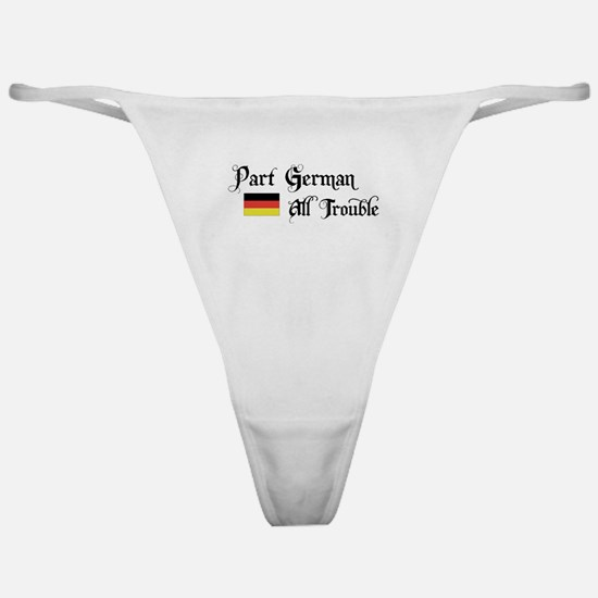 Part German All Trouble Classic Thong