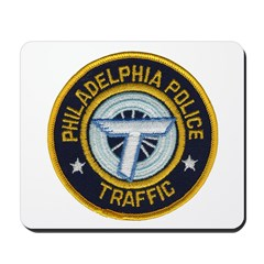 Phila PD Traffic Mousepad
